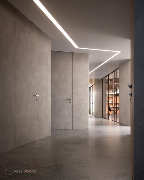 Plasterable Frameless Door