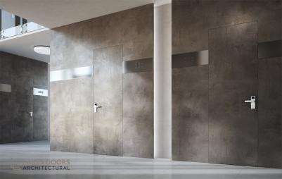 Garofoli Filomuro 'Plasterable' hotel room doors