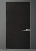 Oikos Black Concrete Door