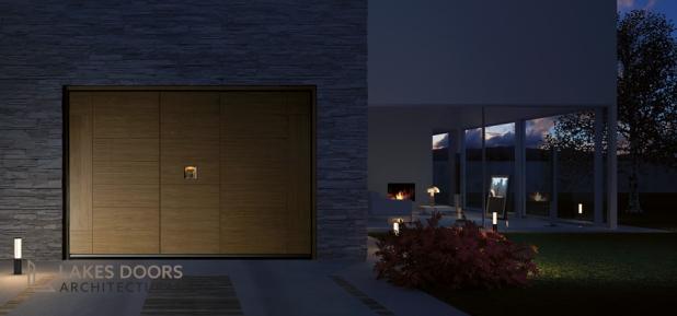 Silvelox GEO garage door